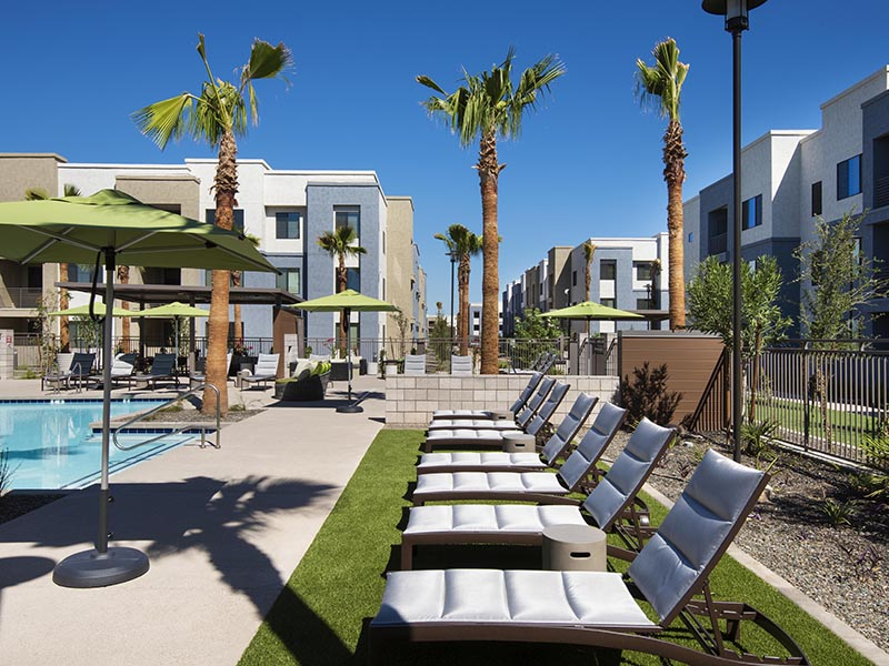 Pool Side Furniture  | Parc at South Mountain