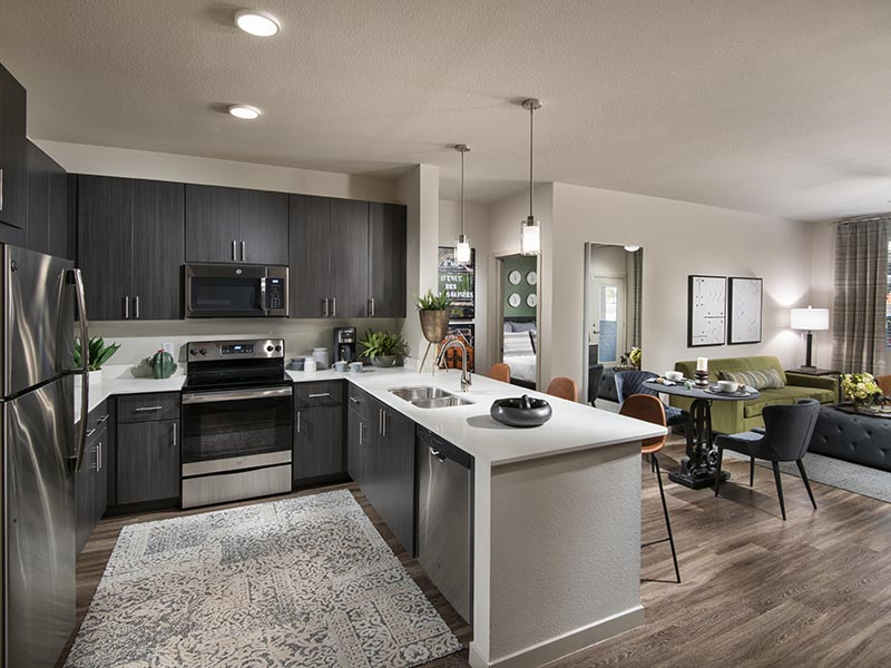 2 Bedroom Kitchen | Parc at South Mountain