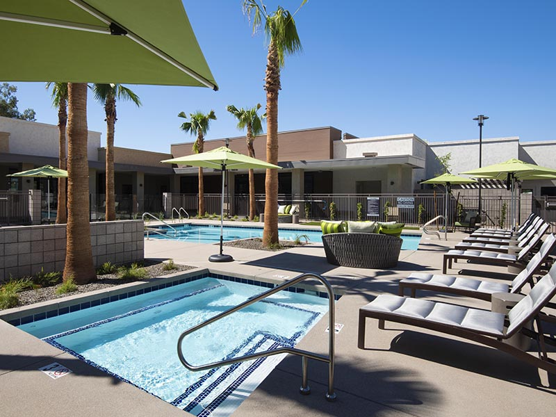 Pool & Hot Tub | Parc at South Mountain