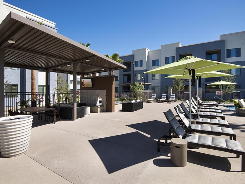 Outdoor Lounge | Parc at South Mountain