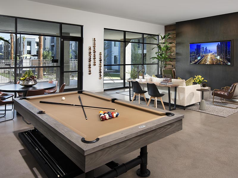 Clubhouse Interior | Parc at South Mountain