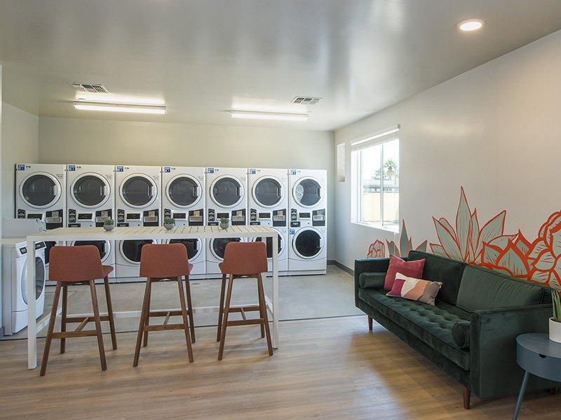 Laundry Facility | The Grayson on the Rail