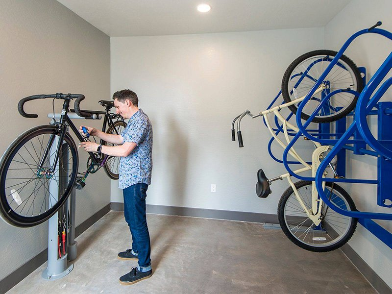Bike Repair Room | The Grayson on the Rail