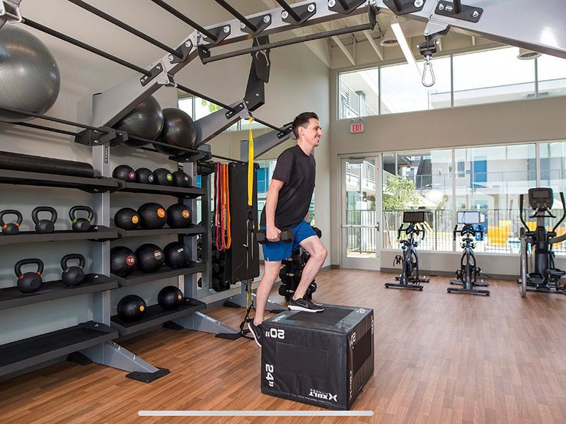Fitness Center | The Grayson on the Rail