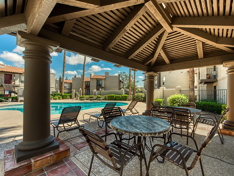 Outdoor Seating | Mountain View Casitas in Phoenix, AZ