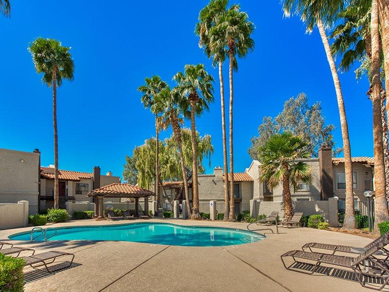 Outdoor Pool | Mountain View Casitas in Phoenix, AZ