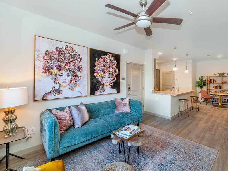 Front Room | Grayson Place Apartments in Goodyear, AZ