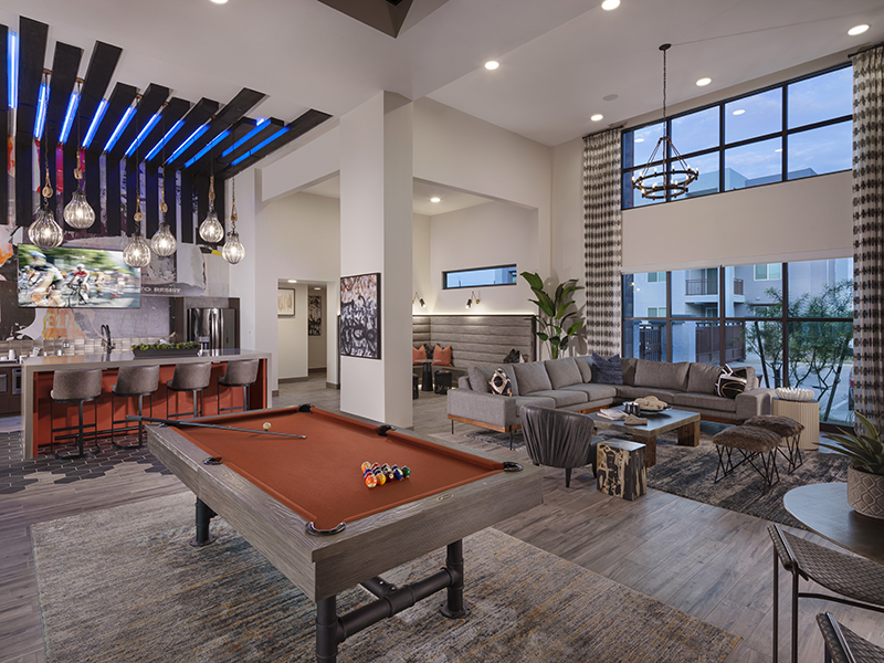 Billiards Table | Grayson Place Apartments in Goodyear, AZ