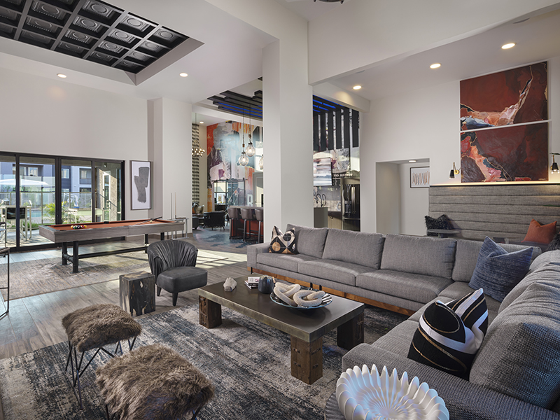 Clubhouse Games Area | Grayson Place Apartments in Goodyear, AZ