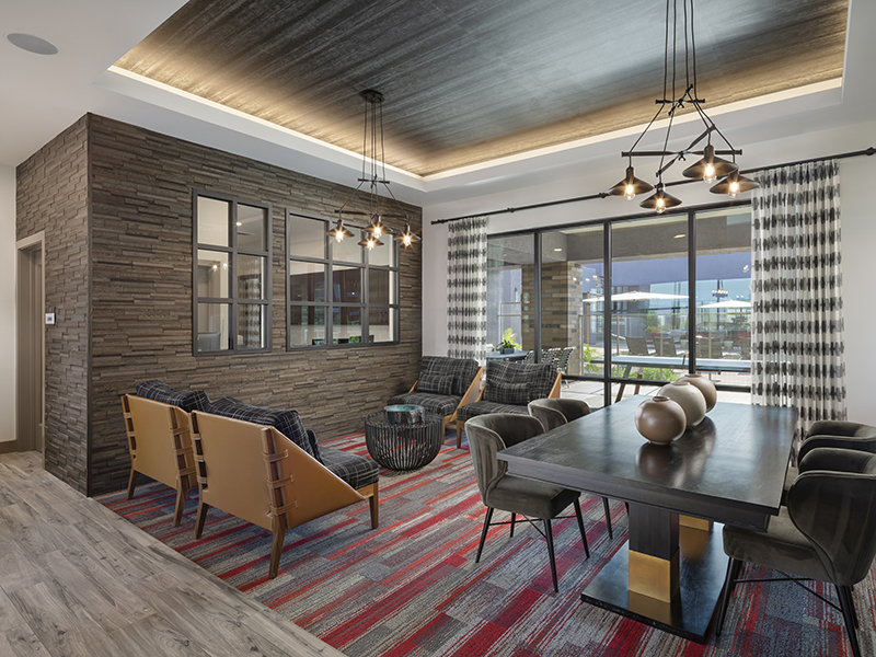 Clubhouse Lobby | Grayson Place Apartments in Goodyear, AZ