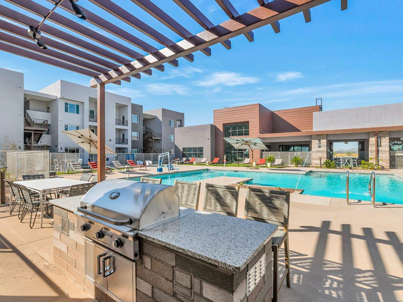Grill Area | Grayson Place Apartments in Goodyear, AZ