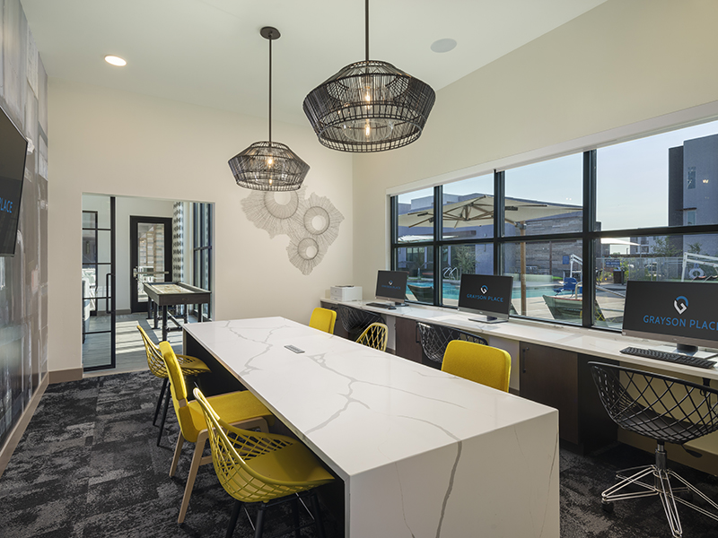 Business Center | Grayson Place Apartments in Goodyear, AZ