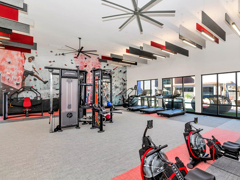 Fitness Center | Grayson Place Apartments in Goodyear, AZ