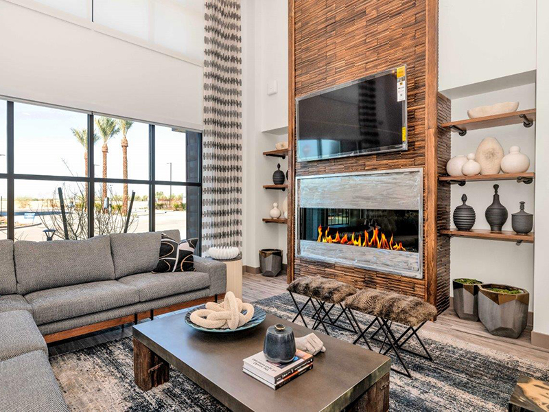 Lounge | Grayson Place Apartments in Goodyear, AZ