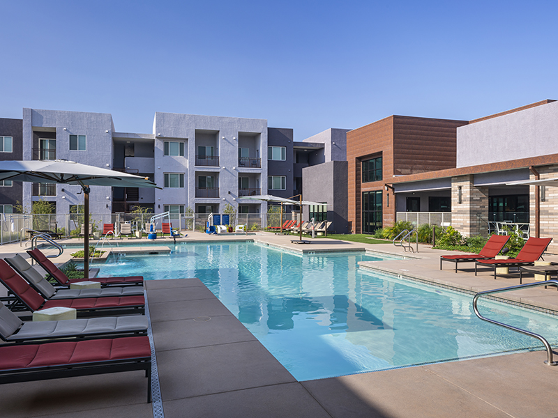 Swimming Pool | Grayson Place Apartments in Goodyear, AZ