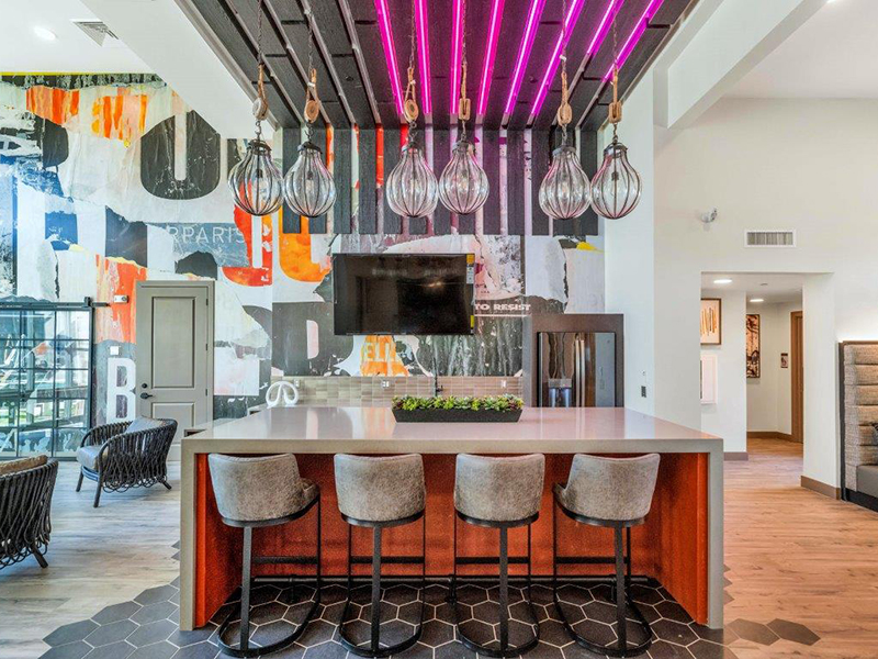 Clubhouse Lounge | Grayson Place Apartments in Goodyear, AZ