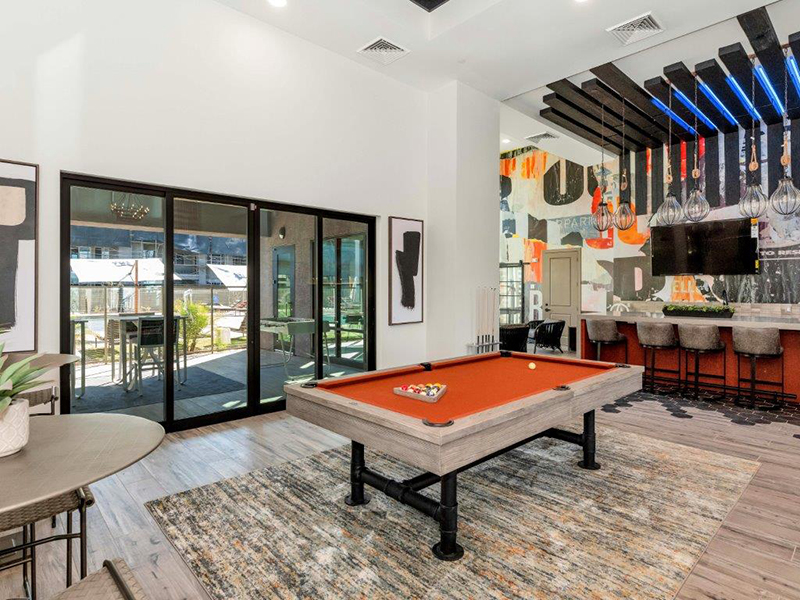 Pool Table | Grayson Place Apartments in Goodyear, AZ