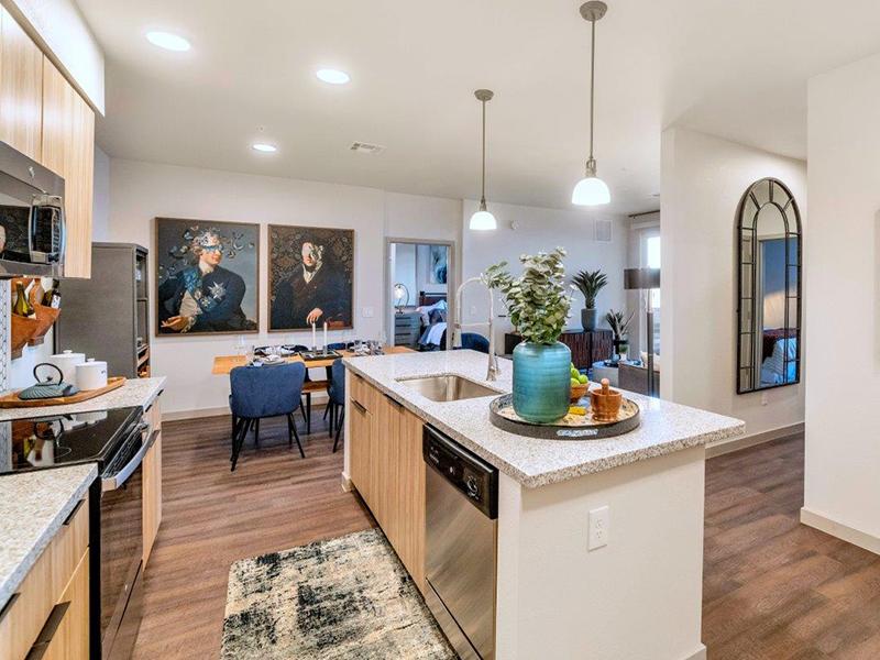 Kitchen | Grayson Place Apartments in Goodyear, AZ