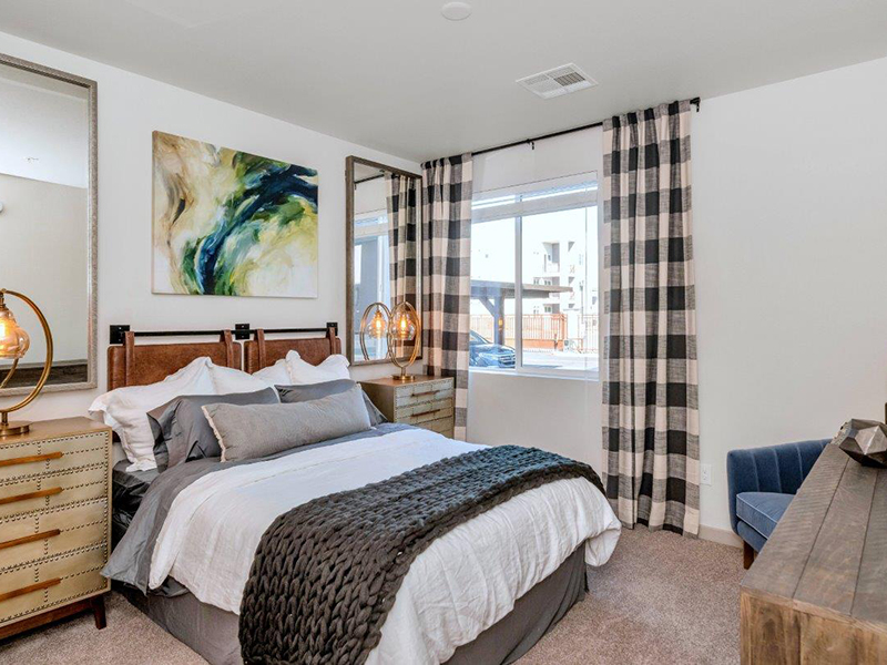 Bedroom | Grayson Place Apartments in Goodyear, AZ