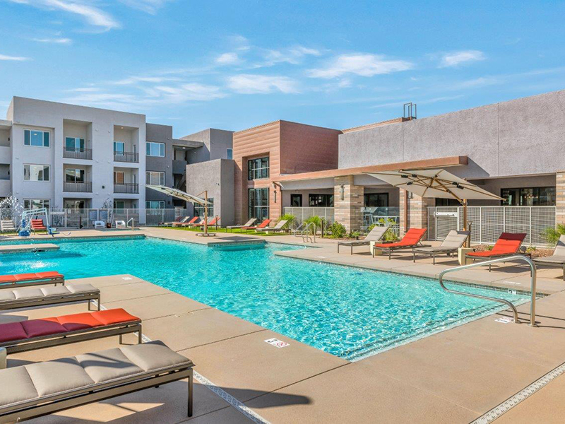 Shimmering Pool | Grayson Place Apartments in Goodyear, AZ