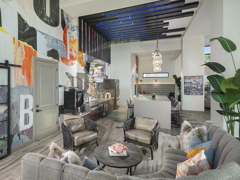 Lobby | Grayson Place Apartments in Goodyear, AZ