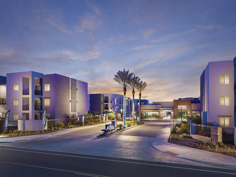 Apartment Entry | Grayson Place Apartments in Goodyear, AZ