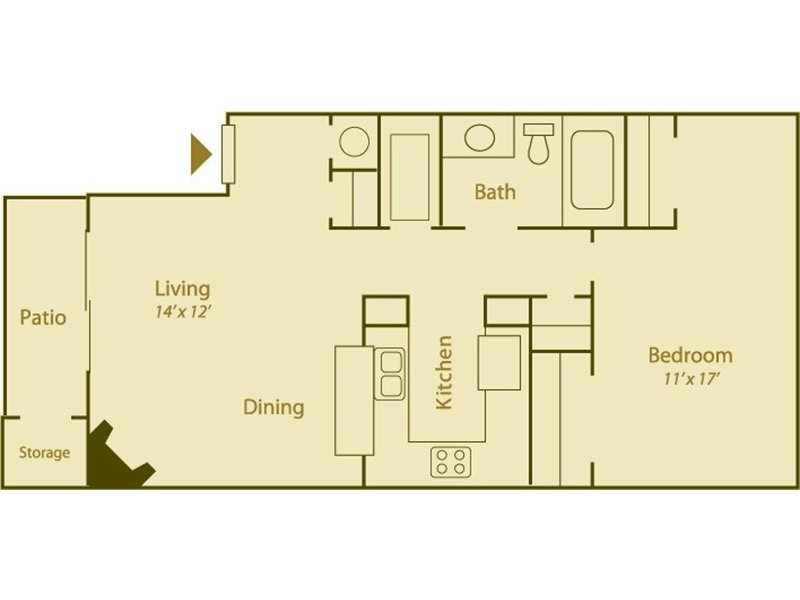 Floor Plans at Candlelight Square Apartments
