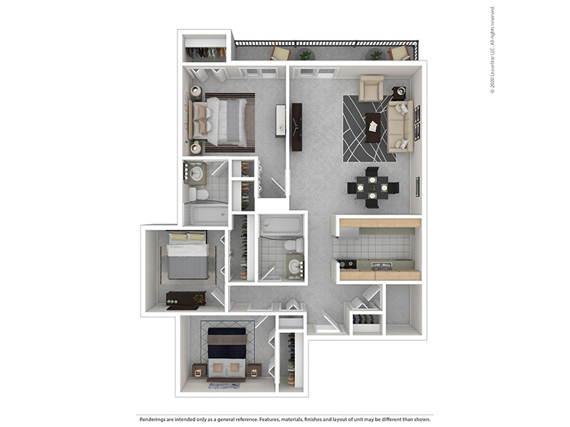 Floor Plans at Indigo Park Apartments