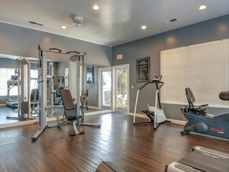 Gym | Indigo Park Apartments
