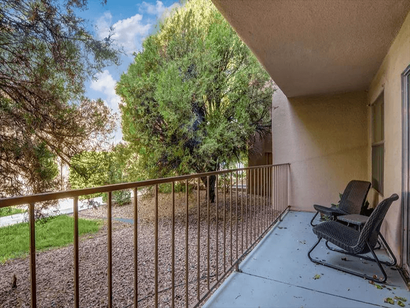 Patio/Balcony | Indigo Park in Albuquerque NM