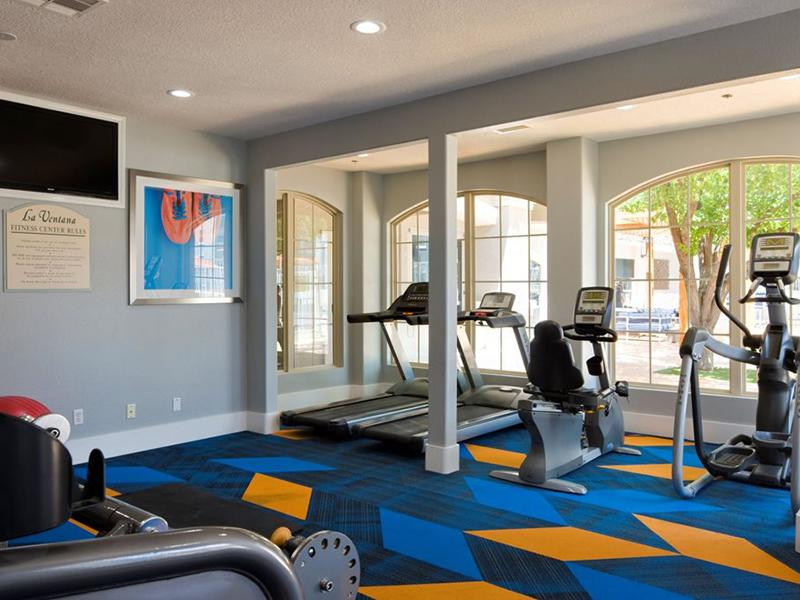 Fitness Center | La Ventana in Albuquerque, NM