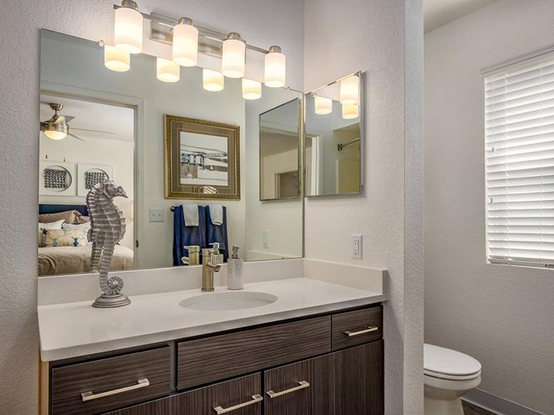 Bathroom | La Ventana Apartments in Albuquerque, NM