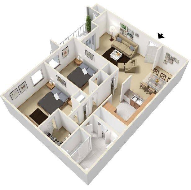 Floor Plans at The Villas at La Privada Apartments