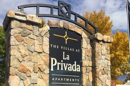 Welcome Sign | The Villas at La Privada