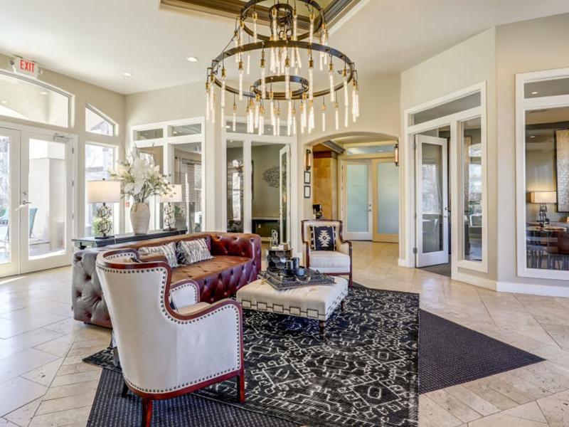 Leasing Office Lobby | Broadstone Heights 87122 Apartments