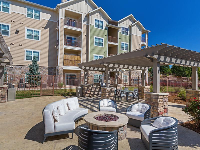 Fire Pit | The Peaks at Woodsmen Apartments
