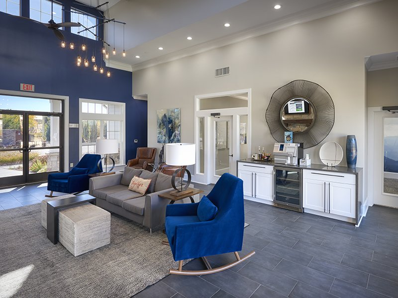 Clubhouse Interior | Peaks at Woodmen Apartments in Colorado Springs, CO