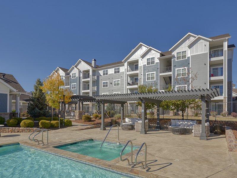 Swimming Pool | Peaks at Woodmen Apartments in Colorado Springs, CO