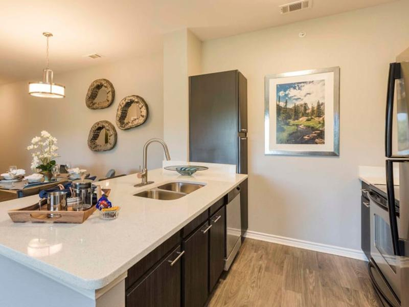 Fully Equipped Kitchen | Peaks at Woodmen Apartments
