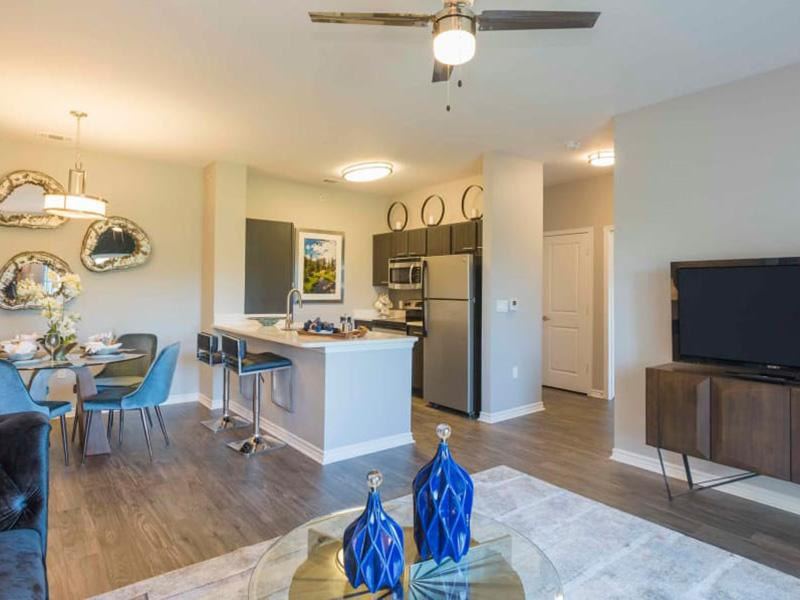 Open Floorplan Designs | Peaks at Woodmen Apartments