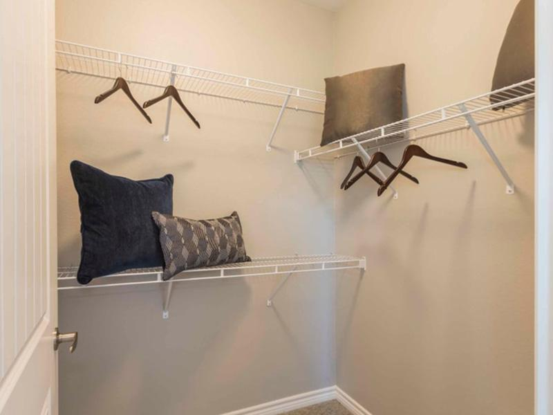Walk In Closets | Peaks at Woodmen Apartments in Colorado