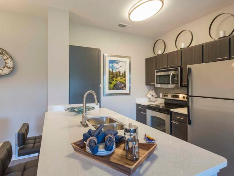 Kitchen | Peaks at Woodmen Apartments in Colorado Springs, CO