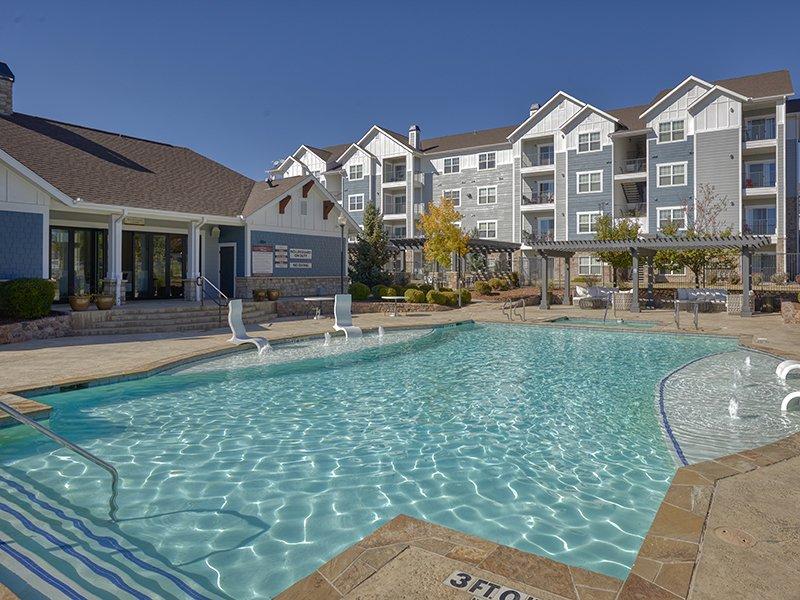Pool | Peaks at Woodmen Apartments in Colorado Springs, CO