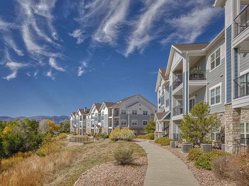 Paths | Peaks at Woodmen Apartments in Colorado Springs, CO