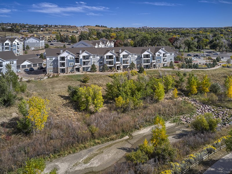 Apartment Exterior | Peaks at Woodmen Apartments in Colorado Springs, CO