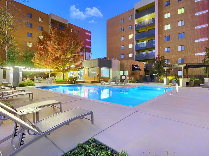 Outdoor Pool - Apartments in Denver, CO
