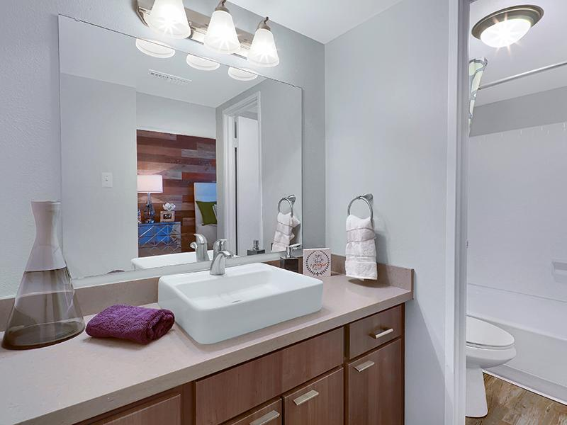 Bathroom - Luxury Apartments in Denver CO