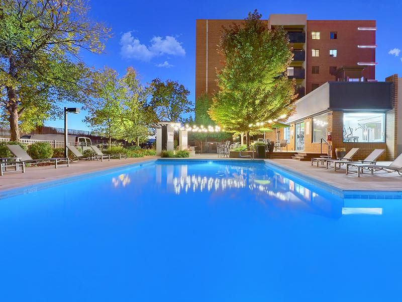 Outdoor Pool Apartments in Denver, CO