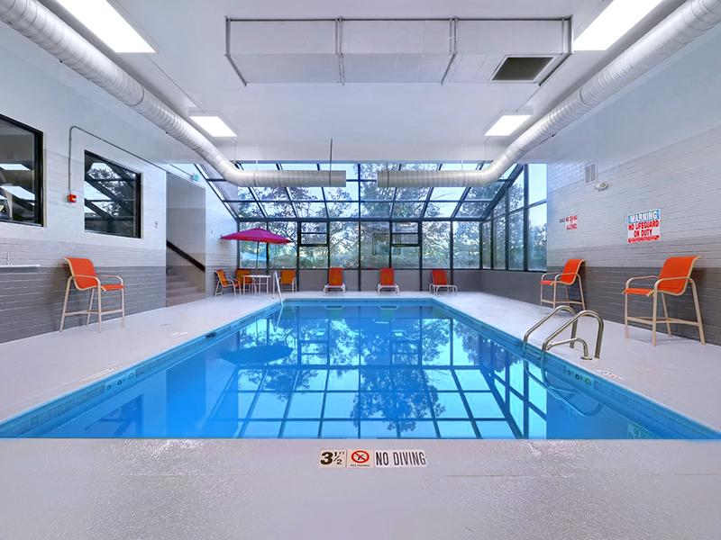 Indoor Pool - Axis at Nine Mile Station Apts - CO
