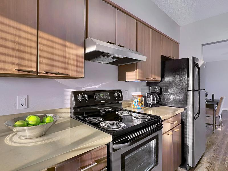 Kitchen - Axis at 9 Mile Station Apartments
